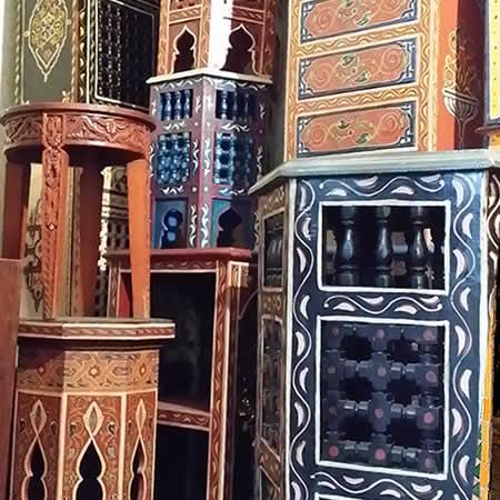 Marokkaanse meubeltjes