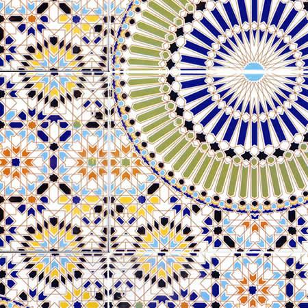 Marokkaanse tegels